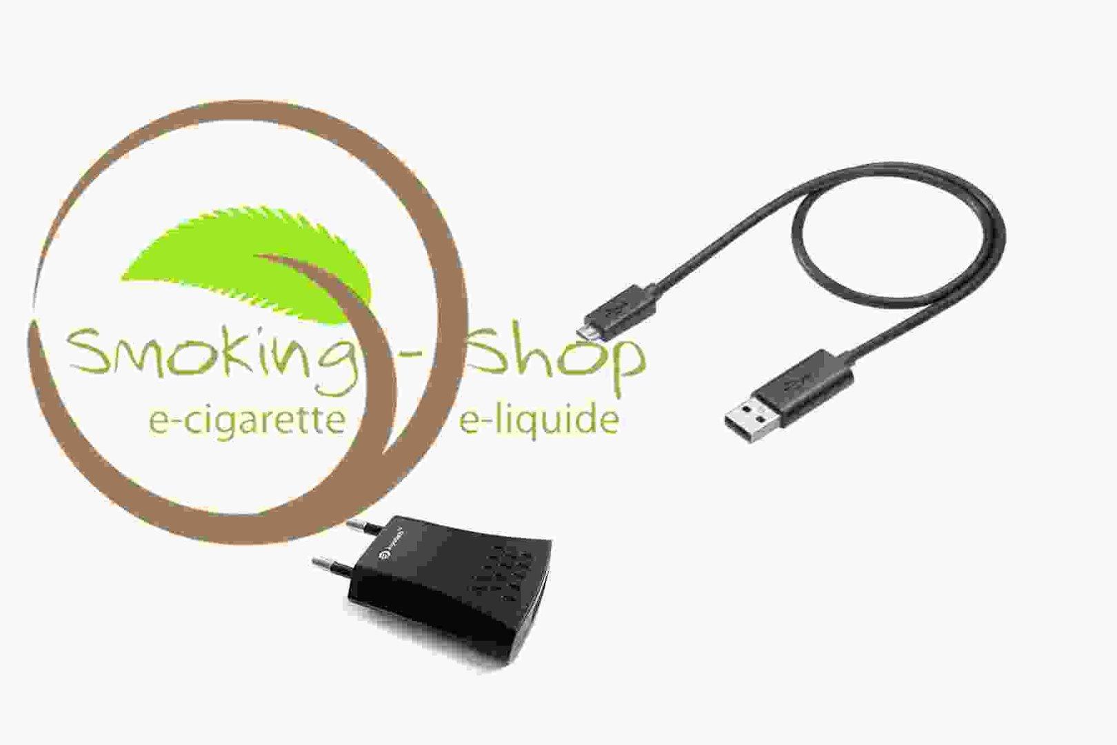 chargeur micro usb adaptateur secteur smoking shop. Black Bedroom Furniture Sets. Home Design Ideas
